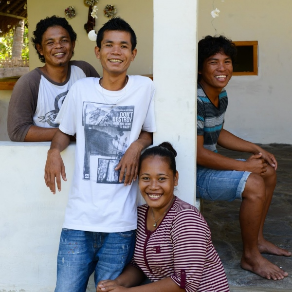 Hamrin, Ilham, Erna and Idris.