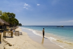 A beach on Gili Air